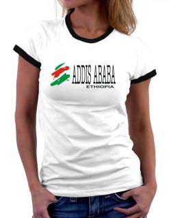 Brush Addis Ababa Women Ringer T-Shirt