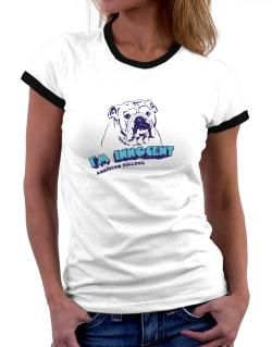 I'm Innocent American Bulldog Women Ringer T-Shirt