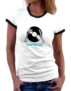 Acid House - Lp Women Ringer T-Shirt