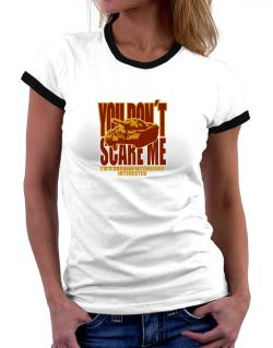 Dont Scare Me Women Ringer T-Shirt