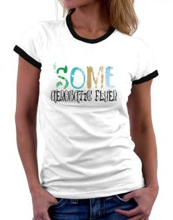 Some Aerobatic Flyer Women Ringer T-Shirt