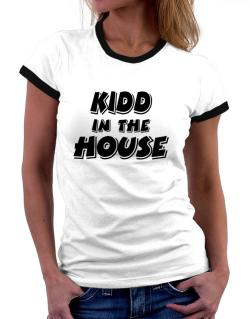 Kidd In The House Women Ringer T-Shirt