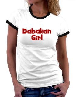 Dabakan Girl Women Ringer T-Shirt