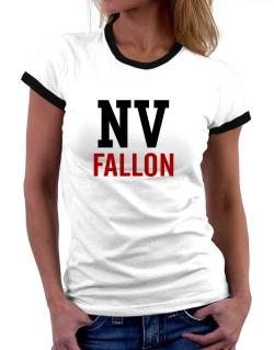Fallon - Postal usa Women Ringer T-Shirt