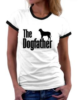 The dogfather Broholmer Women Ringer T-Shirt