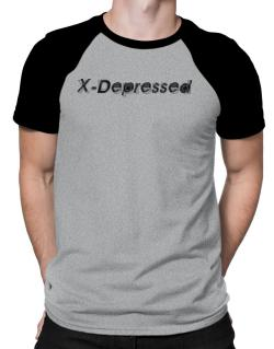 X-depressed Raglan T-Shirt