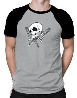 Skull and Trombone Raglan T-Shirt