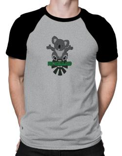 Koalafied for a hug Raglan T-Shirt