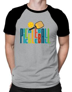 Pickleball fan Raglan T-Shirt