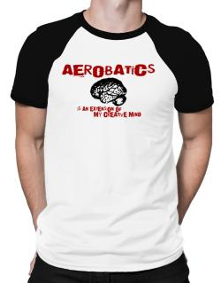 Aerobatics Is An Extension Of My Creative Mind Raglan T-Shirt