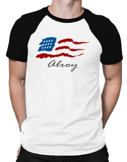 Alroy - Us Flag Raglan T-Shirt