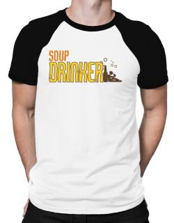 Soup Drinker Raglan T-Shirt