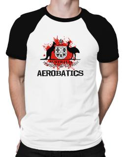 Australia Aerobatics / Blood Raglan T-Shirt