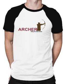 Archery - Only For The Brave Raglan T-Shirt