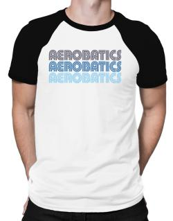 Aerobatics Retro Color Raglan T-Shirt