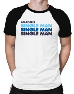 Amadeus Single Man Raglan T-Shirt