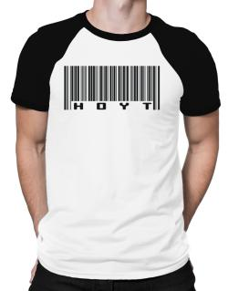Bar Code Hoyt Raglan T-Shirt