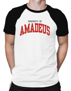 Property Of Amadeus Raglan T-Shirt