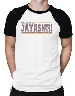 Property Of Jayashri - Vintage Raglan T-Shirt