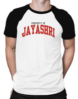 Property Of Jayashri Raglan T-Shirt