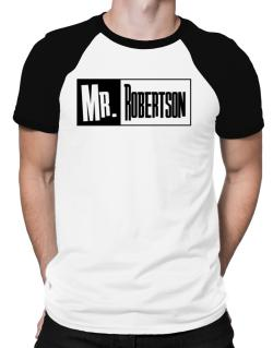 Mr. Robertson Raglan T-Shirt