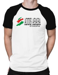 Brush Addis Ababa Raglan T-Shirt