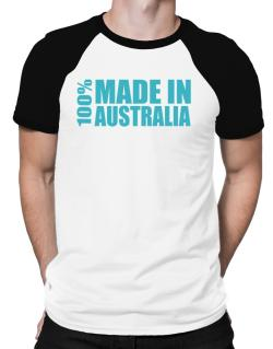 100% Made In Australia Raglan T-Shirt