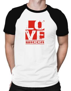 Love Wicca Raglan T-Shirt