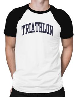 Triathlon Athletic Dept Raglan T-Shirt