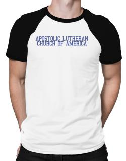 Apostolic Lutheran Church Of America - Simple Athletic Raglan T-Shirt