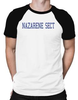 Nazarene Sect - Simple Athletic Raglan T-Shirt