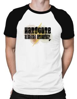 Hardcore Albanian Orthodoxy Raglan T-Shirt