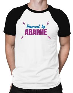 Powered By Abarne Raglan T-Shirt