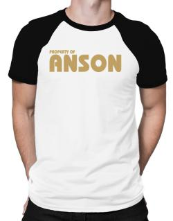 Property Of Anson Raglan T-Shirt
