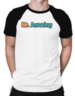 Mr. Amazing Raglan T-Shirt