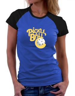 Pickleball Women Raglan T-Shirt
