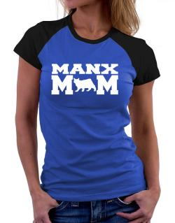Manx mom Women Raglan T-Shirt