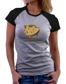 Economic Report 2009 Women Raglan T-Shirt