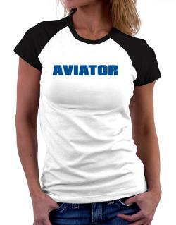 Aviator Women Raglan T-Shirt