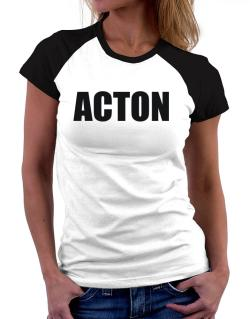 Acton Women Raglan T-Shirt