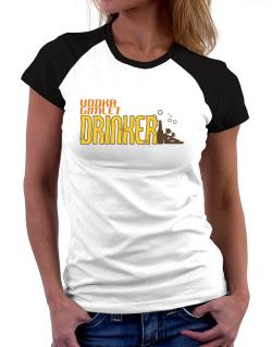 Vodka Gimlet Drinker Women Raglan T-Shirt