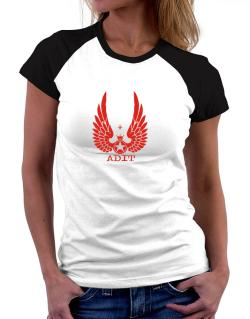 Adit - Wings Women Raglan T-Shirt