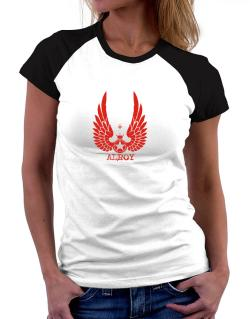 Alroy - Wings Women Raglan T-Shirt