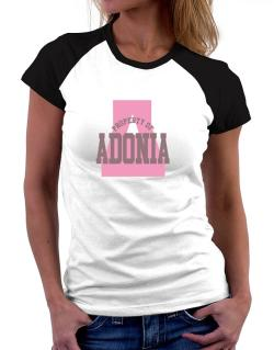 Property Of Adonia Women Raglan T-Shirt