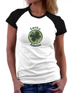 Lucky Pelletier Women Raglan T-Shirt