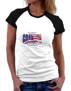 Grandpa Tallahassee - Us Flag Women Raglan T-Shirt