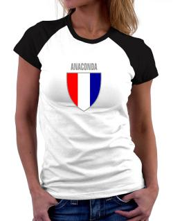 Anaconda Escudo Usa Women Raglan T-Shirt
