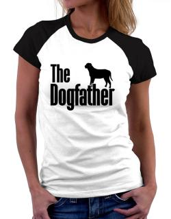 The dogfather Broholmer Women Raglan T-Shirt