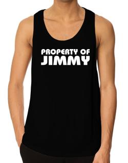 """ Property of Jimmy "" Tank Top"