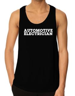 Automotive Electrician Tank Top
